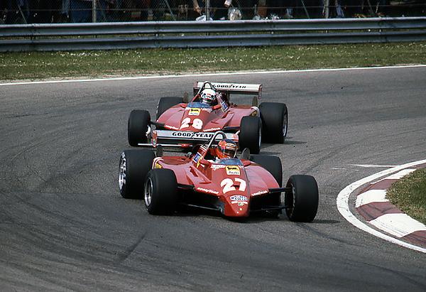 klemcoll, Ferrari, Gilles Villeneuve, Imola