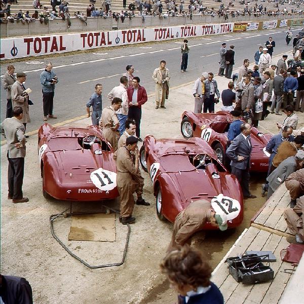 Le Mans, Ferrari, klemcoll