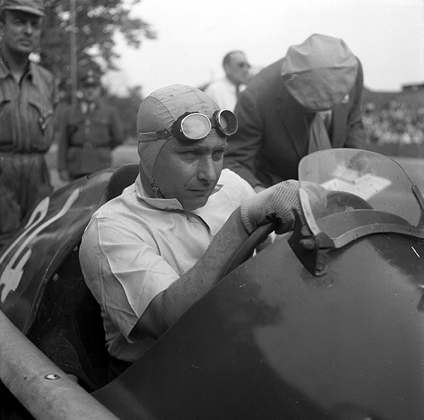 Alfa Romeo, Berne, Bremgarten, Juan Fangio, klemcoll