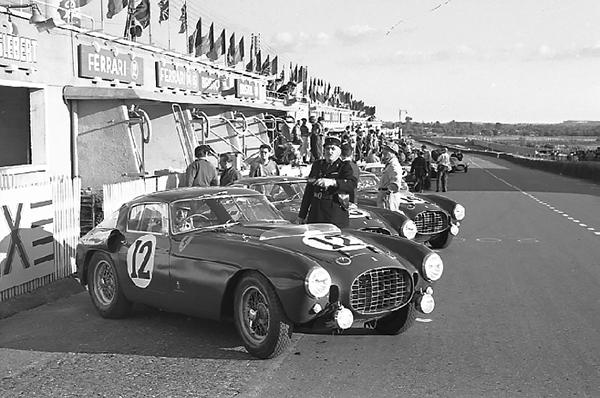 Ferrari, Le Mans, klemcoll