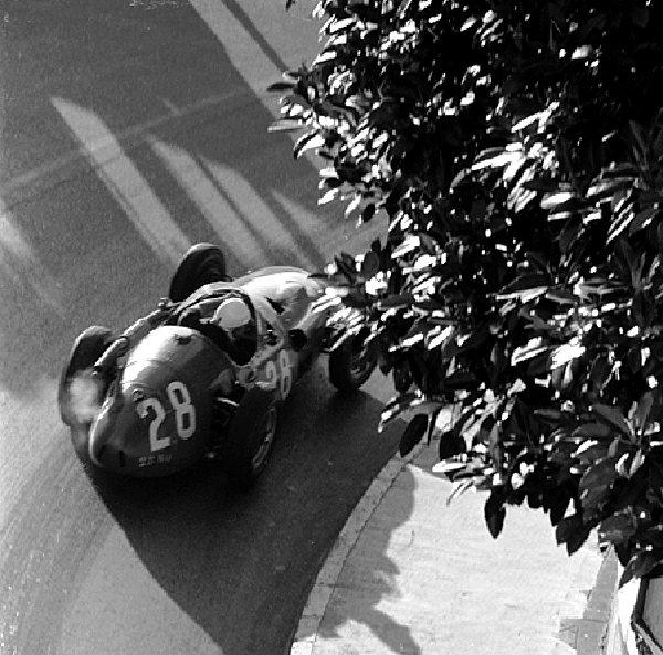 Stirling Moss, Maserati, Monaco, klemcoll