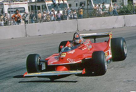 Gilles Villeneuve, Long Beach, Ferrari klemcoll
