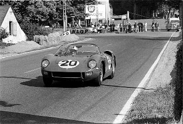 Le Mans, klemcoll, Ferrari Jean Guichet