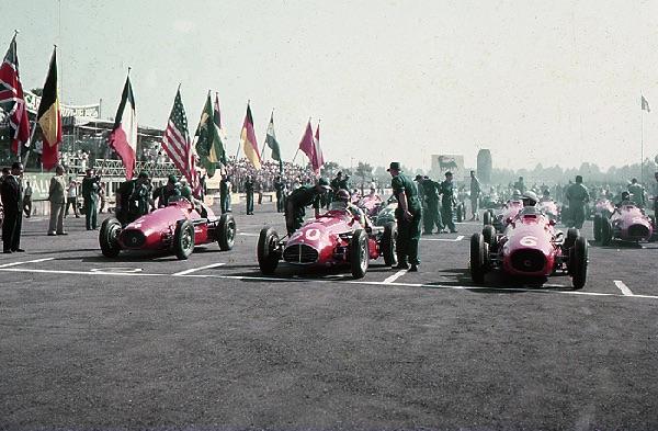 Ferrari, Maserati, Monza, klemcoll