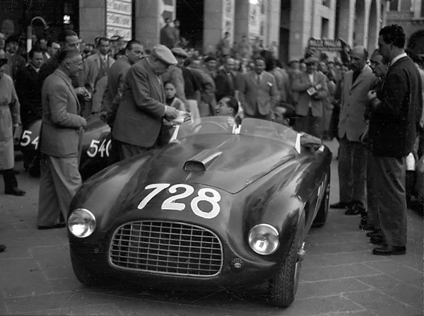 Ferrari, Mille Miglia klemcoll, Ascari