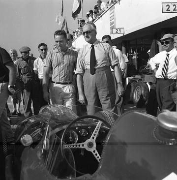 Ferrari, Monza, Phil Hill, klemcoll