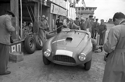 Ferrari, Nurburgring, klemcoll, Ascari, Farina