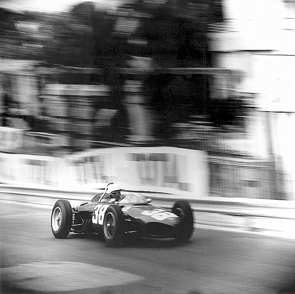 Phil Hill, Monaco, Ferrari, klemcoll