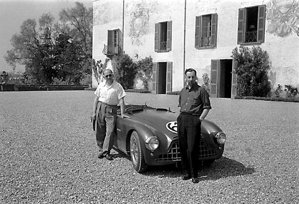 Reg Parnell, Louis Klemantaski, klemcoll, Aston Martin, Mille Miglia, Casa Maggi