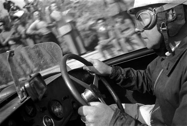 Reg Parnell, Mille Miglia, klemcoll, Aston Martin