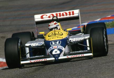 Williams, Nelson Piquet, klemcoll, German GP