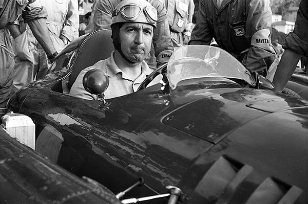 Alberto Ascari, Monaco Grand Prix, Lancia, klemcoll