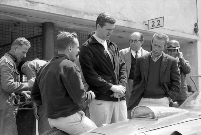 Monza, Ferrari, klemcoll, Phil Hill, Wolfgang von Trips, Carlo Chiti, Richie Ginther