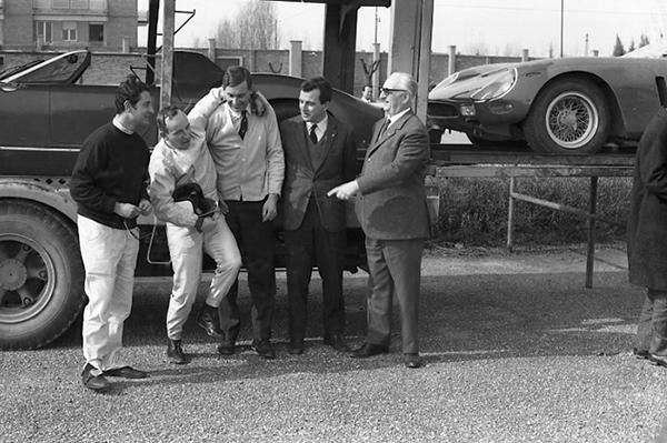 Ferrari, Enzo Ferrari, klemcoll, 250GTO