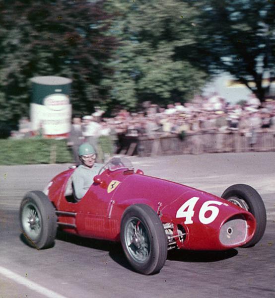 Alberto Acari, Ferrari, Bremgarten, klemcoll