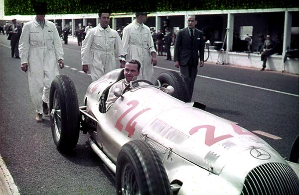 Mercedes=Benz, Rudolf Caracciola, French Grand Prix