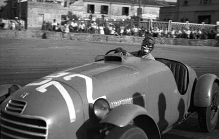 Nuvolari, Ferrari, Circuito di Forli, klemcoll
