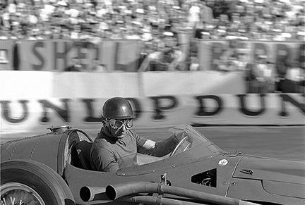 Maserati, Fangio, Monaco, klemcoll