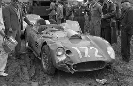 Ferrari, Dino, Targa Florio, klemcoll