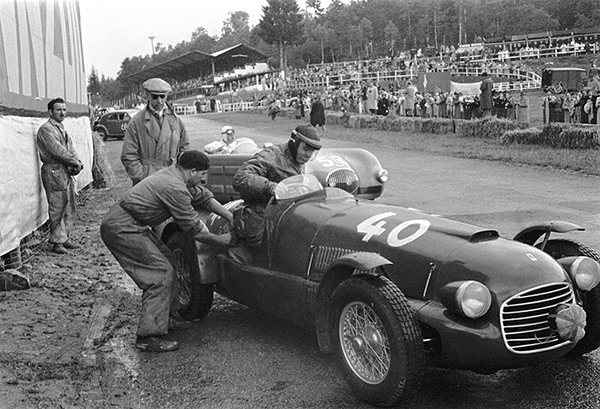In the Wet at Spa
